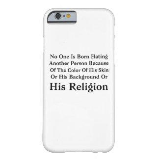 Coque Barely There iPhone 6 Barack Obama personne est né détestant une autre