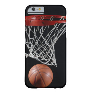 Coque Barely There iPhone 6 Basket-ball dans le cercle