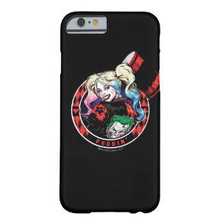 Coque Barely There iPhone 6 Batman | Harley Quinn clignant de l'oeil avec le