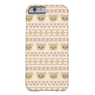 Coque Barely There iPhone 6 Bearfaced par Yokute
