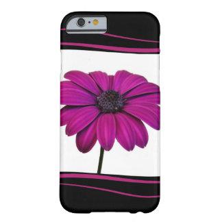 Coque Barely There iPhone 6 Belle fleur rose de marguerite