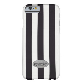 """Coque Barely There iPhone 6 """"Black and White"""" Lines"""