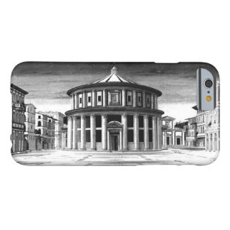 Coque Barely There iPhone 6 Blanc IDÉAL de noir d'architecture de la