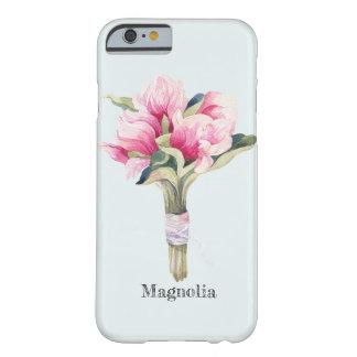Coque Barely There iPhone 6 Bouquet féminin de magnolia