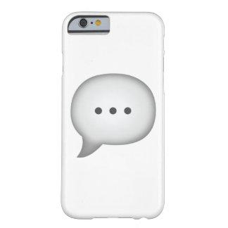 Coque Barely There iPhone 6 Bulle de la parole - Emoji