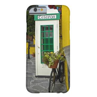 Coque Barely There iPhone 6 Cabine téléphonique vintage et bicyclette en