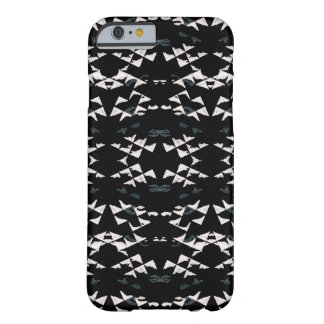 Coque Barely There iPhone 6 Caisse blanche de l'iPhone 6/6s de triangles