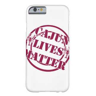 Coque Barely There iPhone 6 Cajun vit couverture de téléphone portable de