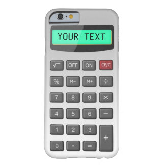 Coque Barely There iPhone 6 Calculatrice
