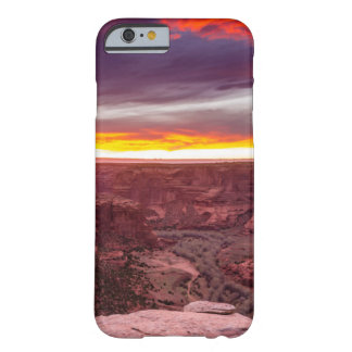 Coque Barely There iPhone 6 Canyon de Chelly, coucher du soleil, Arizona