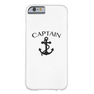 Coque Barely There iPhone 6 Capitaine du cool de croisière de canotage de