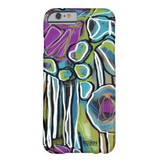 Coque Barely There iPhone 6 Cas abstrait lumineux de téléphone ou de