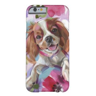 Coque Barely There iPhone 6 Cas cavalier de téléphone d'art de chien de