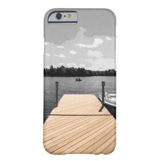 Coque Barely There iPhone 6 cas de dock de cottage d'iPhone (4,5,6,7,8)