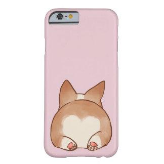 Coque Barely There iPhone 6 Cas de téléphone de bout de corgi