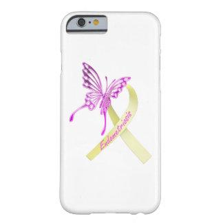 Coque Barely There iPhone 6 Cas de téléphone de conscience d'endométriose