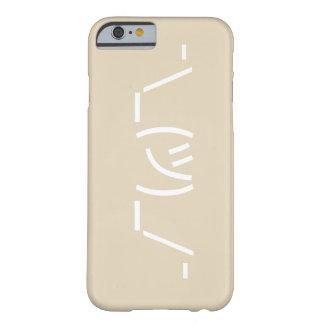 Coque Barely There iPhone 6 Cas de téléphone de l'iPhone 6/6s d'émoticône de