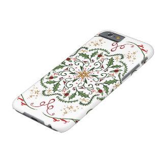 Coque Barely There iPhone 6 Cas de téléphone d'étoile de houx