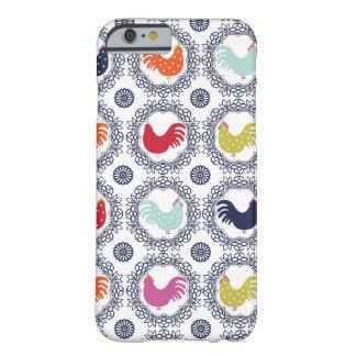 Coque Barely There iPhone 6 Cas de très bon goût de téléphone de poulets de