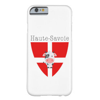 Coque Barely There iPhone 6 Cas d'IPhone 6/6S de vache à la Haute-Savoie