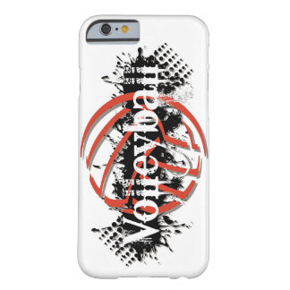 Coque Barely There iPhone 6 Cas d'Iphone 6 de volleyball