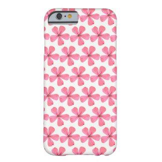 Coque Barely There iPhone 6 Cas d'iphone de fleur