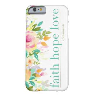 Coque Barely There iPhone 6 Cas floral de téléphone de l'iPhone 6/6s de