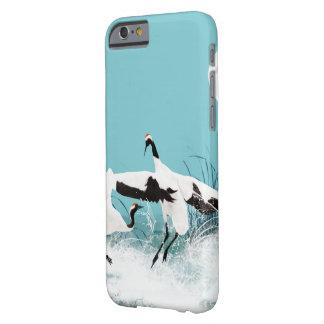 Coque Barely There iPhone 6 Cas intelligent de téléphone de danse de grue de