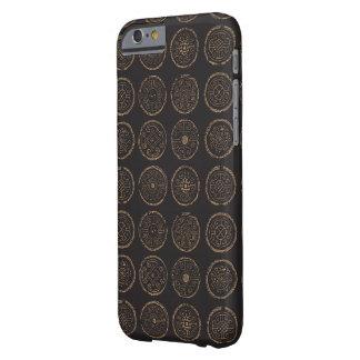 Coque Barely There iPhone 6 Cas intelligent de téléphone de point de polka de