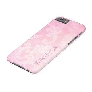 Coque Barely There iPhone 6 Cas rose de survivant de Paisley à peine là