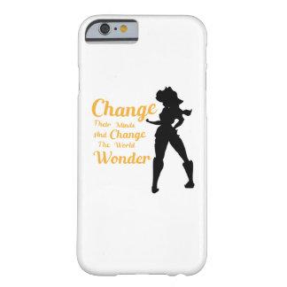 Coque Barely There iPhone 6 Changez d'avis et changez la merveille du monde