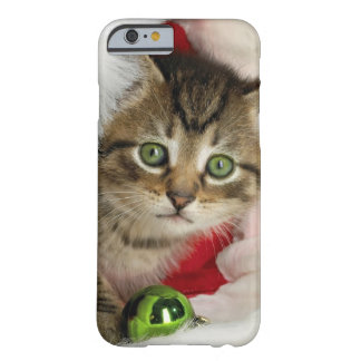 Coque Barely There iPhone 6 Chat de Noël - chat de chaton - chats mignons
