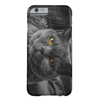 Coque Barely There iPhone 6 Chat noir