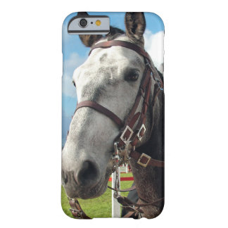 Coque Barely There iPhone 6 Cheval pur de race