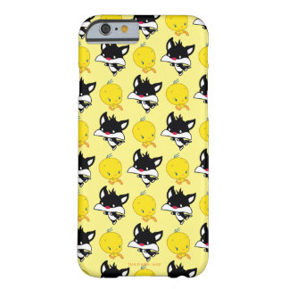 Coque Barely There iPhone 6 Chibi SYLVESTER™ chassant TWEETY™