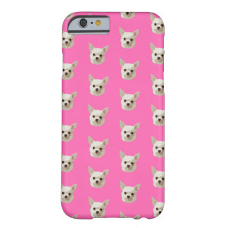 Coque Barely There iPhone 6 Chiwawa rose