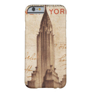 Coque Barely There iPhone 6 Chrysler vintage construisant à New York