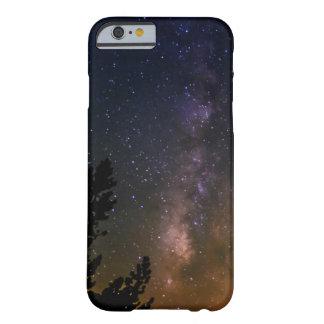 Coque Barely There iPhone 6 Ciel nocturne de manière laiteuse, la Californie