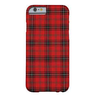 Coque Barely There iPhone 6 Clan tartan rouge et noir de Wemyss