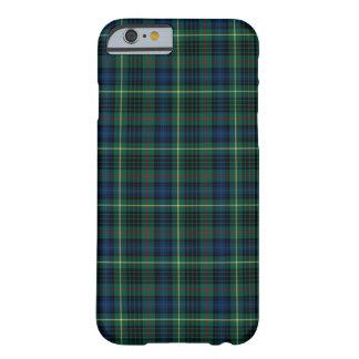 Coque Barely There iPhone 6 Clan tartan vert et bleu de Stewart de chasse