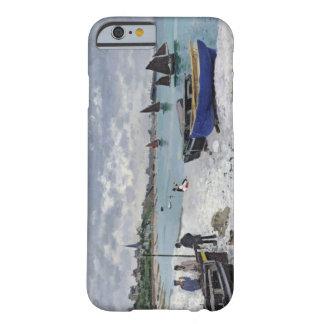 Coque Barely There iPhone 6 Claude Monet | la plage chez Sainte-Adresse