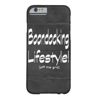 Coque Barely There iPhone 6 Conception de mode de vie de Boondocking
