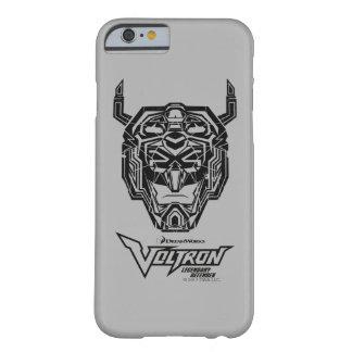Coque Barely There iPhone 6 Contour rompu par tête de Voltron | Voltron