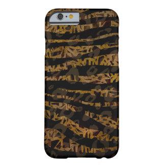 Coque Barely There iPhone 6 Copie fascinante de jungle de safari élégant chic