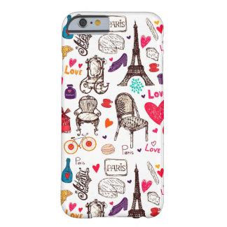 Coque Barely There iPhone 6 Couche Iphone Vida des rêves à Paris