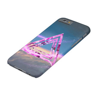 Coque Barely There iPhone 6 Couche pour cellulaire, Triangle de roses