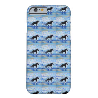 Coque Barely There iPhone 6 Courant librement par la mer 2
