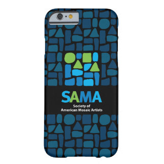 Coque Barely There iPhone 6 Couverture de téléphone de SAMA - art de mosaïque