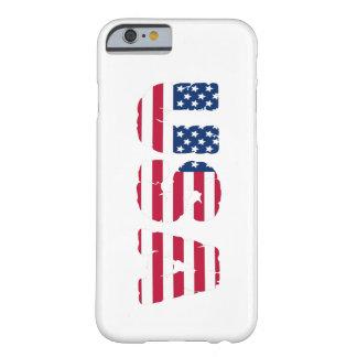 Coque Barely There iPhone 6 Couverture de téléphone des Etats-Unis