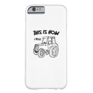 Coque Barely There iPhone 6 Cultivant le tracteur d'agriculteur c'est comment